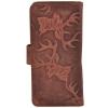 AzraJamil's Women's Genuine Leather Bi-Fold Wallet