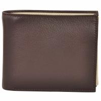 AzraJamil's Men's Genuine Leather Bi-Fold Wallet