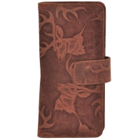AzraJamil's Women's Genuine Leather Bi-Fold Wallet