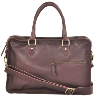 AzraJamil's Men's Genuine Leather Laptop Bag