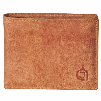 Premium Texas Leather Wallet-Dark Brown