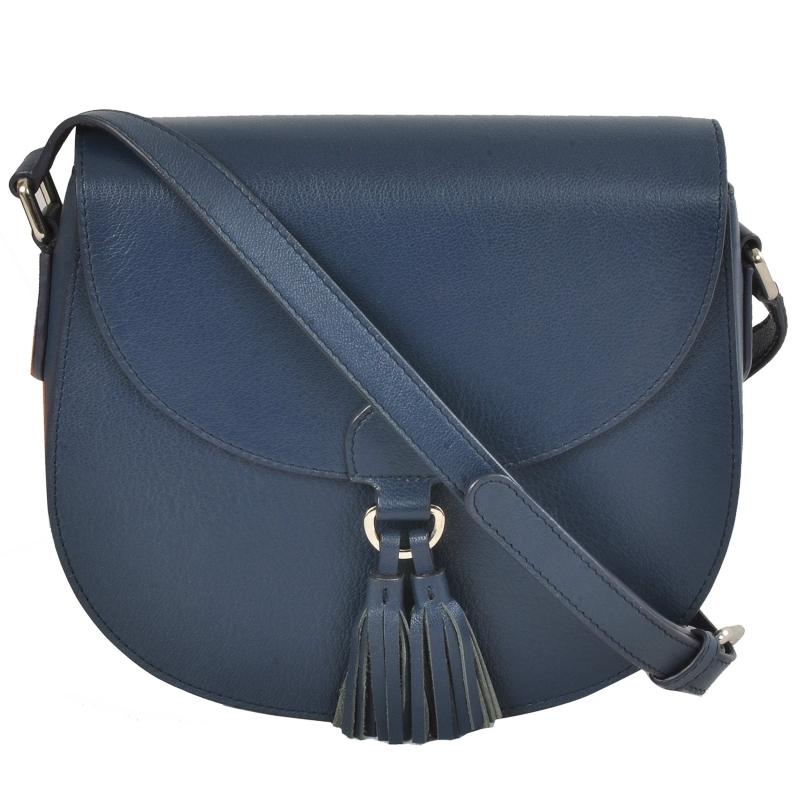 AzraJamil's Women's Genuine Leather Crossbody Bag