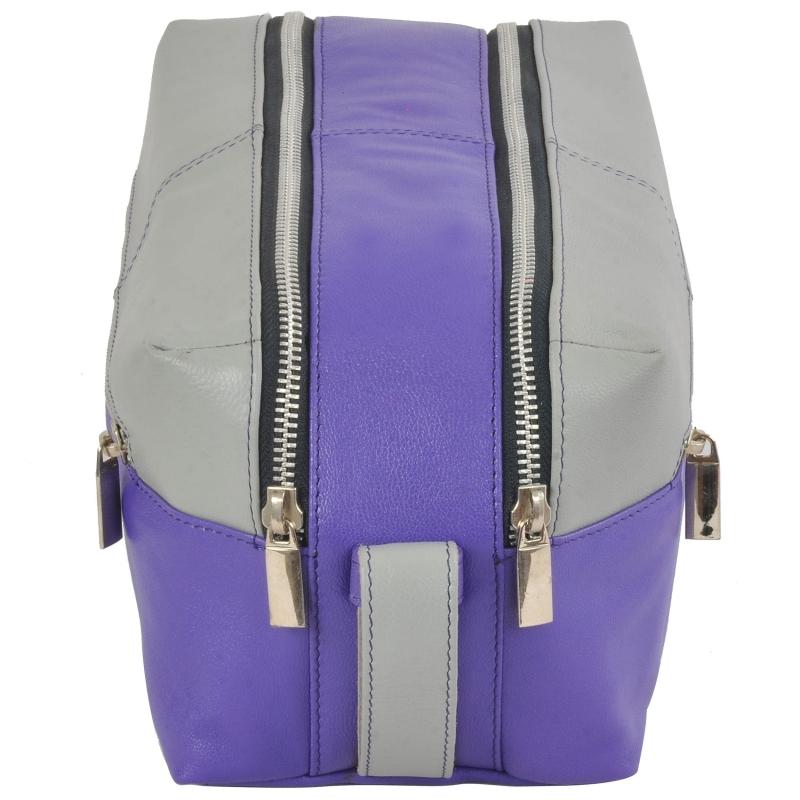 AzraJamil's Men & Women Genuine Leather Toilet Pouch/Bag