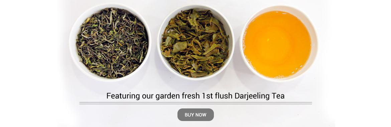 1st flush Darjeeling Tea