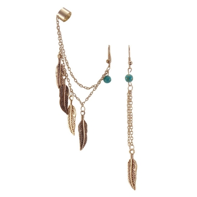 Habors Resin Dangle & Drop Earring For Women (Silver)
