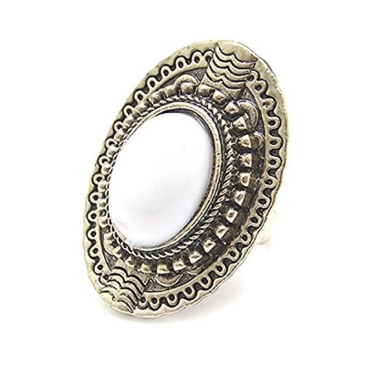 Habors White Stone Fashion Ring for Women