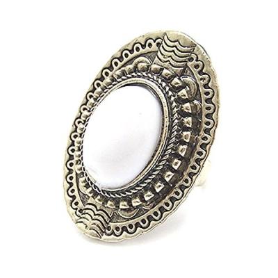 Habors White Stone Fashion Ring for Women
