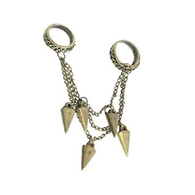 Habors Gold Tassels Multi-finger Ring for Women