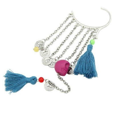 Habors Resin Dangle & Drop Earring For Women (Blue)