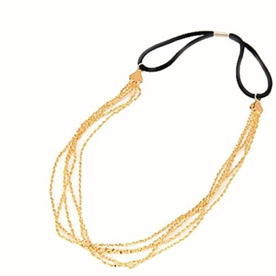 Habors Gold Montgomery Hair Chain