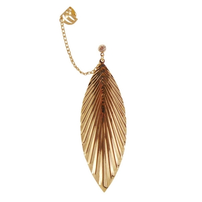 Habors Rhinestone Dangle & Drop Earring For Women (Gold)