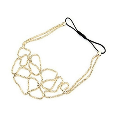 Habors Anna Gold Hoop Hair Chain