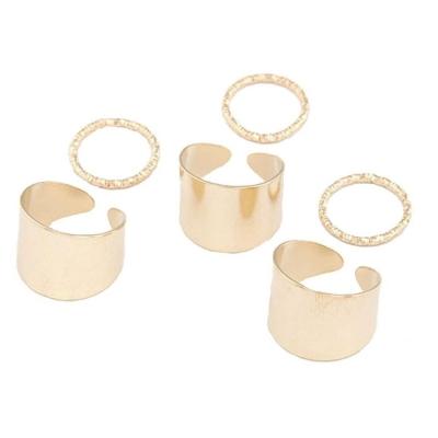Habors Gold Nerina Multi Finger Midi ring for Women