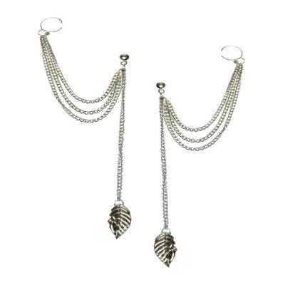 Habors Metal Dangle & Drop Earring For Women (Silver)