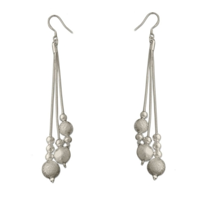 Habors Silverswan 925 Sterling Silver Plated Sophia Earrings for Women