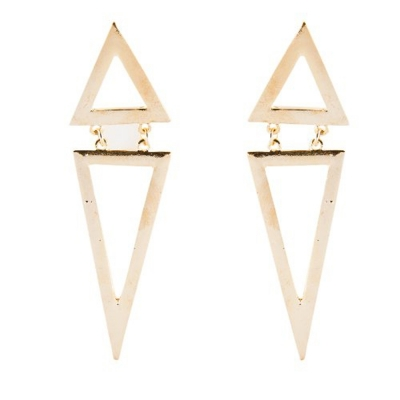 Habors Gold One Earring for Women