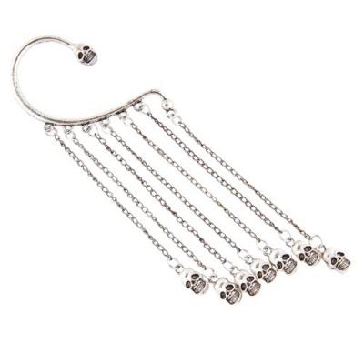 Habors Enamel Dangle & Drop Earring For Women (Silver)