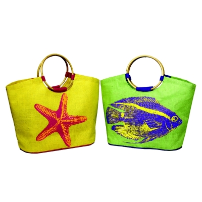 Starfish Beach Bag With Cane Handle (BEACH004)