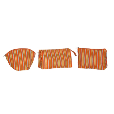 Vibrant Stripes Cosmetic Pouches  (COSMETIC008)