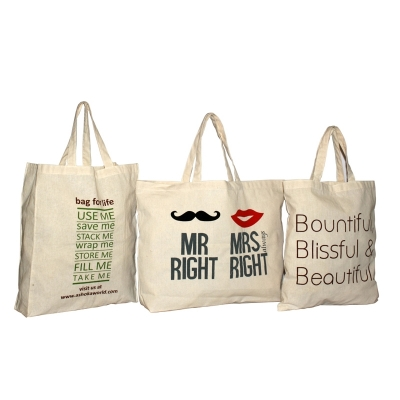 Natural Sheeting Printed Bags (PROMOTIONAL005)