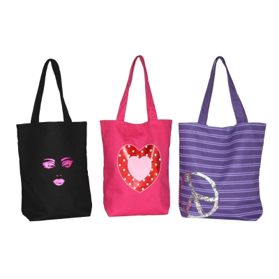 Girl Power Tote Bags (TRENDSETTER010)