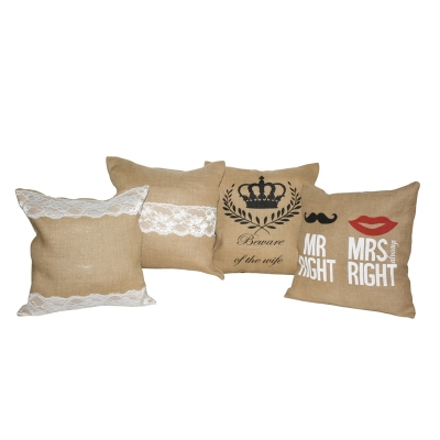 Jute Cushion Covers (HOME008)