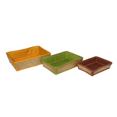 Natural Organisers And Storage Baskets (HOME005)