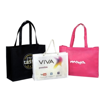 Print Your Logo Shopping Bags (PROMOTIONAL004)