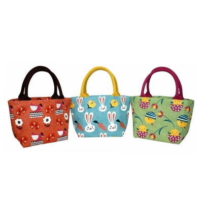 Easter Bags With Contrast Handle (KIDS006)