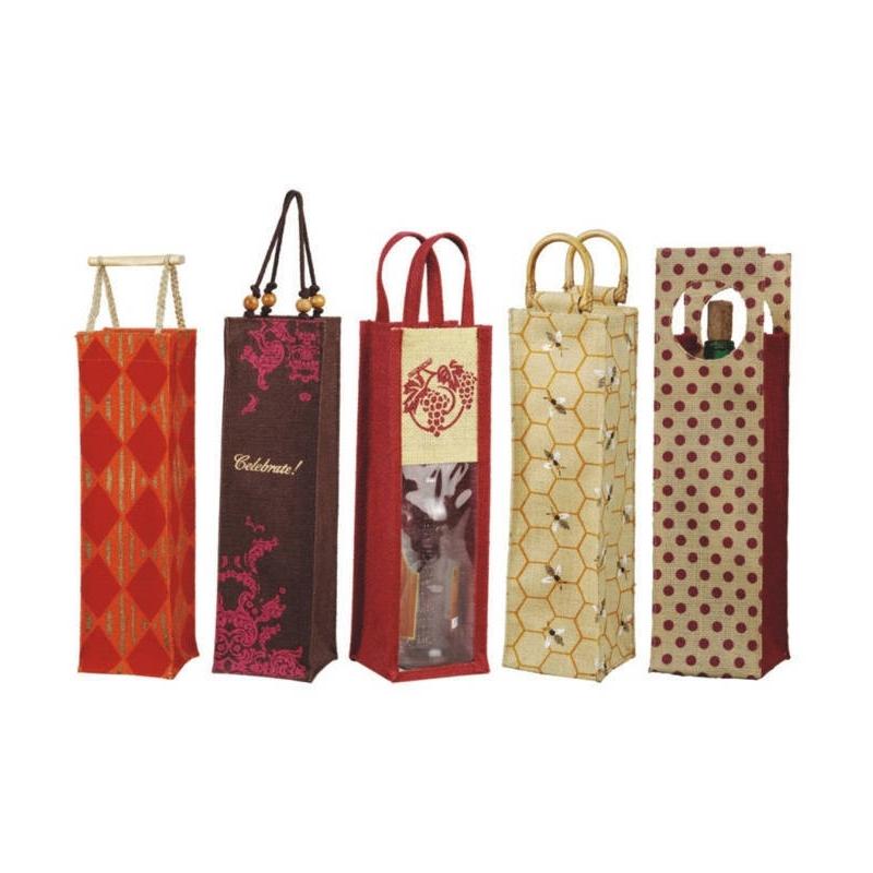 Printed Wine Bags (WINE007)