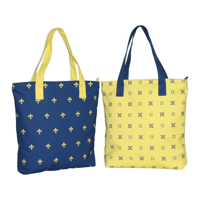 Contrast Tote Bags (TRENDSETTER007)