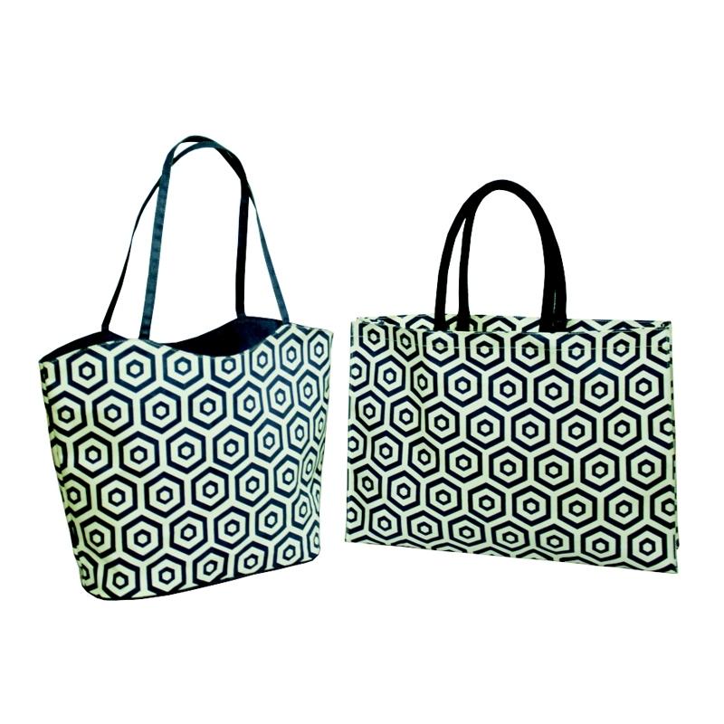 Diamond Print Tote Bag (TRENDSETTER013)