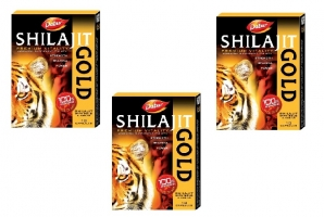 Dabur Shilajit Gold 10 Caps pack of 3