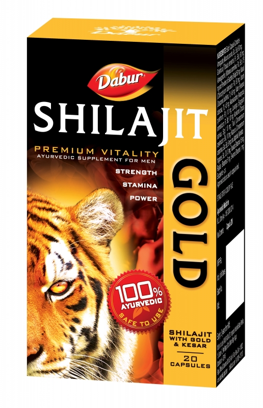 Dabur Shilajit Gold 10 Caps pack of 2