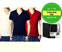 Buy anyone branded t-shirts & get power bank free!!!