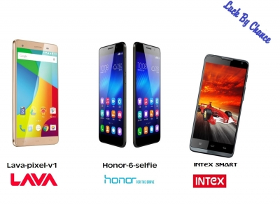Luck By Chance Smartphone offer with Lava,Honor,Intex