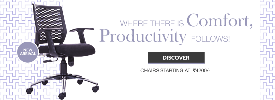 Where there is Comfort !, Productivity follows!