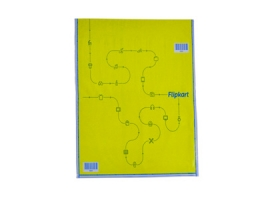 Flipkart Yellow Security Bubble Envelopes