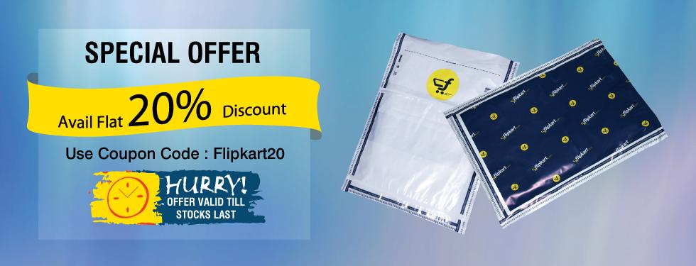 20% OFF on Flipkart Branded Envelopes