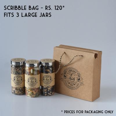 Brown Scribble Bag