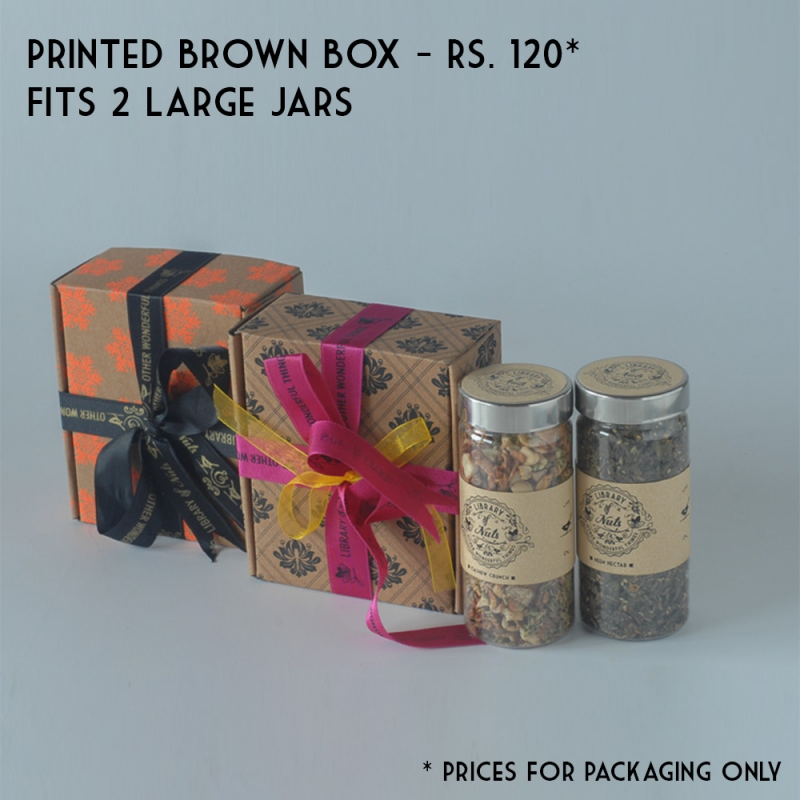 Printed Brown