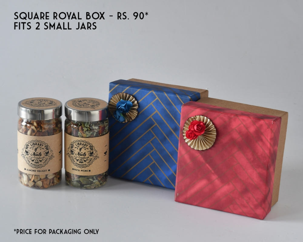 Square Royal Box