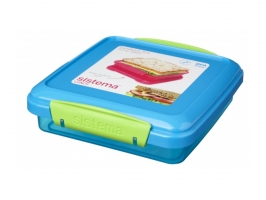 SANDWICH BOX COLOURED 450ml