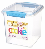 Cookie Tub 2.35L Blue
