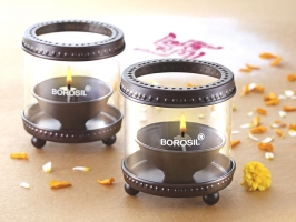 Decorative Diya Lights Set of 2