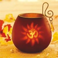 Red Decorative Tea Light