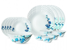 Mimosa 19 Pc Opalware Dinner Set