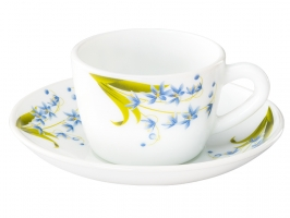Lavender 12 Pc Cup Saucer Set