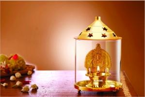 Dhanlaxmi Diya Brass