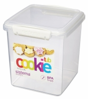 COOKIE TUB 2.35L- WHITE